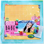 Beach Babe *American Crafts*