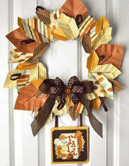 Origami Leaf Wreath & Card *American Crafts*
