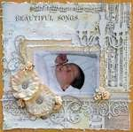 Beautiful Songs *Swirlydoos Kit Club + 2Crafty Chipboard*
