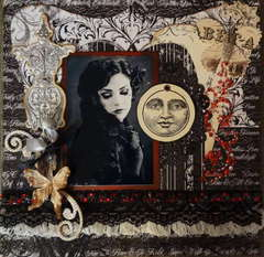 Ode to Lace and Pearls **Scraps of Darkness** Dec Round Robin
