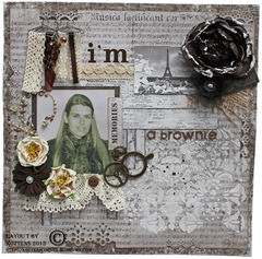 I'm a brownie ***MAJA DESIGN***