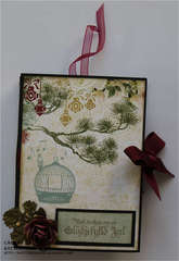 Tealight card-front