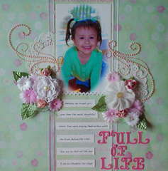 Full of Life **AUGUST PRIMA BAP**