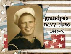 Grandpa's Navy Days