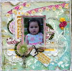 1st Birthday  ****CSI#40***Scrap Fx