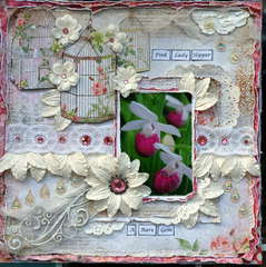 Pink Lady Slipper ***Scrap Fx****