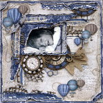 Time Flees ***Maja Design***Dusty Attic***