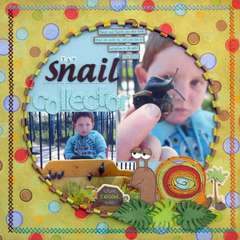 Snail Collector *Imaginisce*