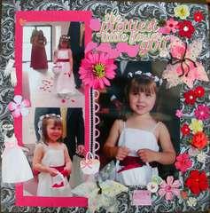 The Prettiest Little Flower Girl