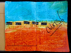 Art Journal Pages:  Happy Colors