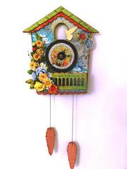 Cuckoo Clock - Flying Unicorn