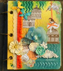 Prima mixed media album