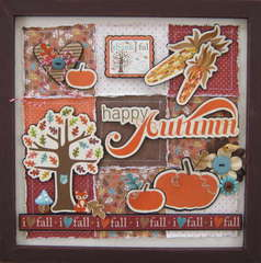 Happy Autumn frame