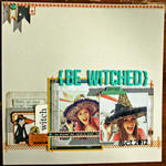 HIP KIT CLUB - October 2012 Kit - Bewitched Layout