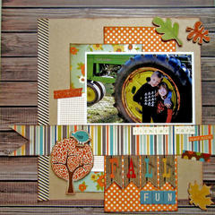 HIP KIT CLUB September 2012 Kit - Fall Fun Layout