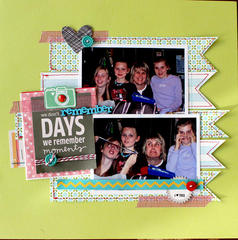 HIP KIT CLUB - December 2012 Kit - Remember Layout