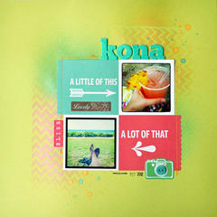 HIP KIT CLUB - December 2012 Kit - Kona Layout