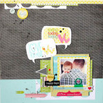*HIP KIT CLUB - JUNE 2013 KIT* Today Layout