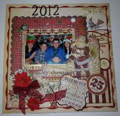 The Christmas Card , Dec 2012 Creative Scrap booking