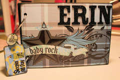 Erin Chipboard Album
