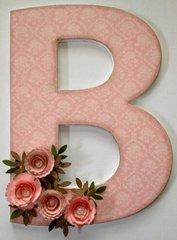Altered Letter B