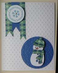 Snowman Christmas-CQC166
