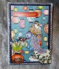 Journal   Graphic 45 Bird Song  (SS Swap)