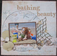 Bathing Beauty (BellaCreations August Color Challenge)