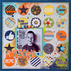 All that Awesome in one Cool Kid