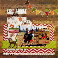 Swing into Fall  **My Creative Scrapbook**