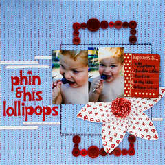 phin and his lollipops
