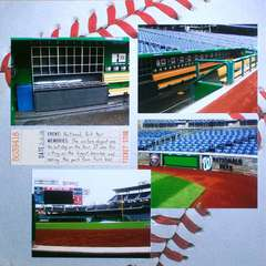 Washington DC 2012 - Page 30 - Ballpark Tour: Dugout (page 1)