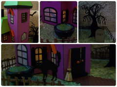 Papercraft Haunted House - Details