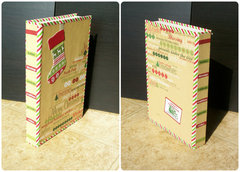 Configurations Mini-Book #6 (Retro Christmas) - Covers and spine
