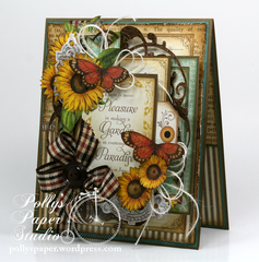 Fall Card with Time To Flourish