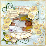 April Showers... {DT work for Scrapbook Challenges}