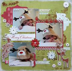 Baby Rudolph {DT work for Kaboodle Doodles}