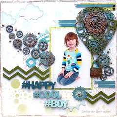 Happy Cool Boy {Creative Embellishments}