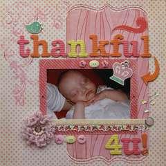 Thankful 4 U! - Elise