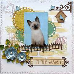 In the Garden {DT work for Heartfelt Creations}