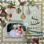 Webster's Pages February Challenge - Christmas Joy
