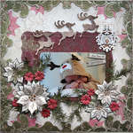 For You At Christmas {DT work for Heartfelt Creations}