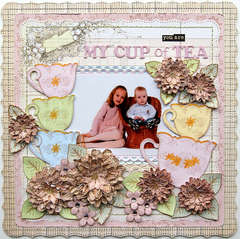 My Cup of Tea {DT work for Heartfelt Creations}