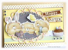 Happy Easter card {Kaboodle Doodle}