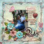Wishes {DT work for Scrapbook Challenges}