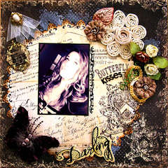 Butterfly Kisses ~Scraps of Darkness~ ~Flying Unicorn~