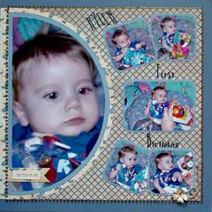 Rylen - First Birthday