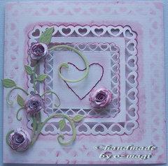 The heart card