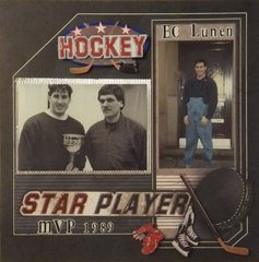 Hockey.. star player
