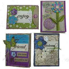 Bold Backgrounds Cards Set